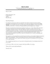 Sales Manager Cover Letter Uk Sample Associate Pertaining To For