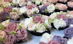 Wedding Cupcakes A Garden Of Flowers Emoticakes