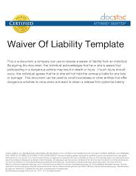 Product Liability Disclaimer Template 100 Injury Disclaimer Template Best Photos Of Waiver Of Property 2