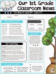 october newsletter ideas parent newsletter ideas october parent newsletter template education