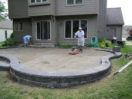 Exellent Raised Patio Pavers Cantonplymouth Northvillepatiosrepaircleaningsealing T And Simple Design