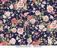 Floral Pattern Stunning Vintage Floral Pattern Stock Vector Royalty Free 48