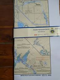Nautical Charts Details About Rideau Canal Nautical Charts 1512 And 1513