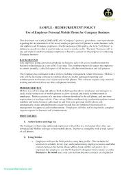 Company Cell Phone Policy Template Create Acknowledgement Letter ...