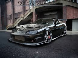 (please give us the link of the same wallpaper on this site so we can delete the repost) mlw app feedback there is no. Black Toyota Supra Modification Hi Res Images 121675 Wallpaper Cars Wallpaper Better