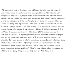 grade level writing sample view full size student writing sample