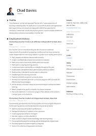 American Curriculum Vitae Format Curriculum Vitae Samples For Teachers Indian Example
