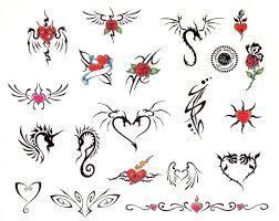 Motiv Tetování Různý Malý 142