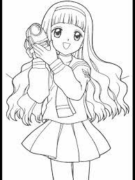 cartoon character colouring pages. Unique Character Cardcaptors 31 Cartoons Coloring Pages With Cartoon Character Colouring E