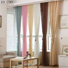 cheap window treatments. Multicolor Thicken Linen Curtains Cheap Custom Window Treatments Pink Modern For Living Room Home E