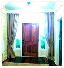 front door window treatment front door with oval window front door window treatments small door window