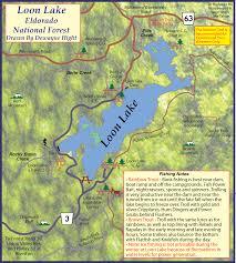 Loon Lake Depth Chart Loon Lake Offers Superb Rainbow Fishing At Desolation Valley