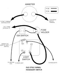 Charming farmall 6 volt tractor wiring diagram ideas electrical