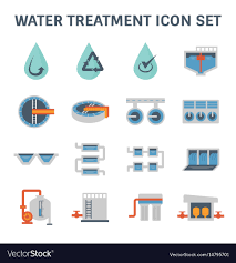 Water Treatment Plant Design Water Treatment Icon