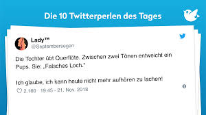 Twitterperlen Des Tages Vom 22 November 2018 Twitterperlen
