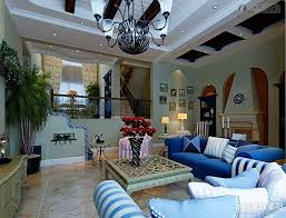 Mediterranean Decor Living Room Living Room 51 Epic Blue Mediterranean Style Living Room