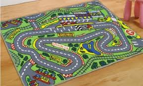 saveenlarge race car floor rug for kids purpletoycom