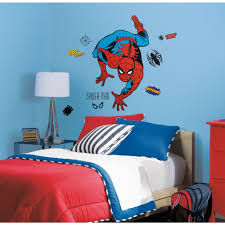 Spiderman Bedroom Decorations Spiderman Crawler Giant Stickers Great Kidsbedrooms The