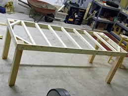 woodworking farmhouse table plans build plans pdf