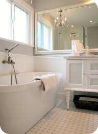 Bathroom White Cabinets Bathroom Middle Wall Fireplace Plus Dark Wooden Vanity Cabinets