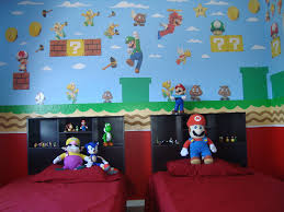 Mario Bedroom Decor Cuarto De Mario Bros Parte De La Pared By Wanda Liz Rodriguez