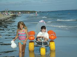 Image result for image + floating beach wheel chairs