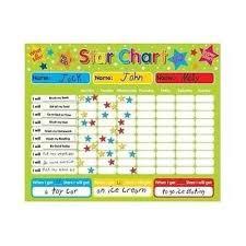 Chore Chart Kids Reward Board Behavior Learning Games Fun Daily List Sticker New