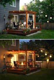 cheap backyard ideas no grass. medium image for 15 diy backyard and patio lighting projects deck ideas with above ground cheap no grass t