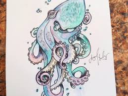 Small Picture Octopus Drawings Coloring Page