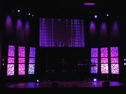 Poster Board And Electrical Tape Church Stage Church