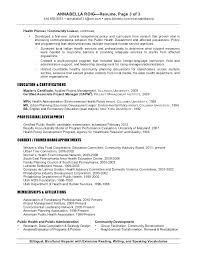 City Planner Resume Objective Professional Resume Templates