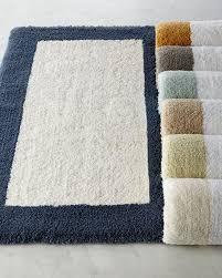 latest kassatex bath rugs kassatex tufted cotton bath rug 20 x 32