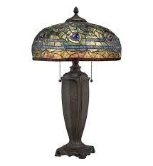 quoizel tf1487t tiffany table lamp