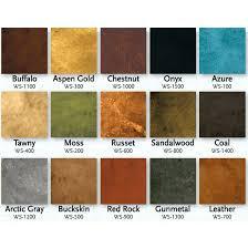 Logical Eagle Concrete Stain Color Chart 2019
