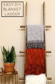 Diy Blanket Ladder Easy Diy Blanket Ladder 5 Creative Uses