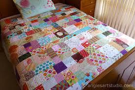 Patchwork Bedspreads — Angie's Art Studio & Patchwork Bedspreads Adamdwight.com