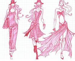 drawings fashion designs fashion sketches 55 inspiring fashion sketches illustrations