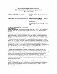 Government Job Resume Examples Interesting Government Resume Sample Pdf About Resume Examples For 23