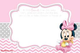 Baby Mickey Mouse Invitation Template Printable | Comoarmar.org