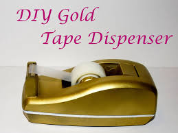 diy gold tape dispenser jpg
