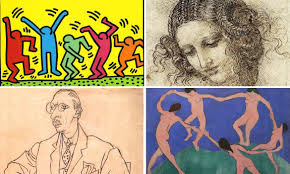 Line Art A Look At The History Of A Visual Arts From Line Drawing