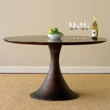 beautiful round pedestal dining table for dining room ideas modern round pedestal dining table and