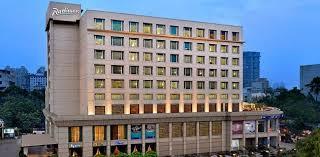 exterior of radisson mumbai goregaon hotel