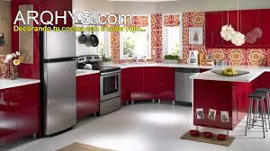 Ideas Para Decorar Cocinas Pequeñas  DecoracionredDecorar Muebles De Cocina