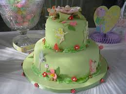 another view fairy garden baby shower cake