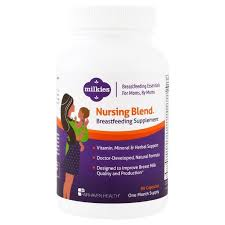 Fairhaven Health, <b>Milkies</b>, <b>Nursing Blend Breastfeeding</b> Supplement ...