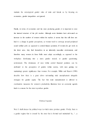 gad essay   5 maintain the stereotypical gender roles