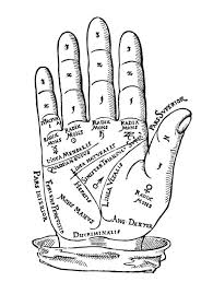 Palmistry Chart 1560 Poster