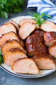 smoked pork tenderloin dinner at the zoo