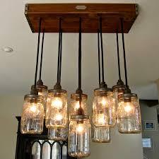 rope mason jar lights. Home Lighting, Stunning Mason Jar Light Fixtures Ideas For Diy Lamp Chandelier With Rope Hanging Lights E